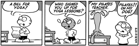Who signed you up for Yoga?