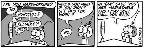 Would you mind if you didn't get paid for work?