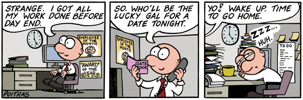Who'll be the lucky gal for a date tonight.