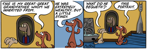 He was extremely wealthy, but a little stingy.